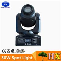 Wholesale Good Led Spot Lights - Hot good quality 30W LED Spot Light DMX512 Master-Slave Auto Run Sound controller Moving Head Light DJ Bar Performance