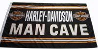 Wholesale Motorcycle Customs - Custom Motorcycle Man Cave Flag Banner for Harley 100D polyester with 2 grommets