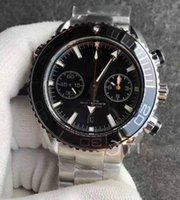 Wholesale Planet Ocean Eta - Mens Limited Edition Planet Ocean 600m 45mm Stainless Steel Chronograph Working Counter OM Factory ETA 7750 Automatic Watches