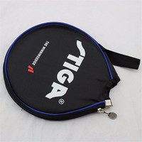 Wholesale Table Tennis Racket Bag - Table Tennis Racket Case Ping Pong Accessories Round Ping Pong Paddle Bat Bag Blades Protector for Table Tennis Holder Bags