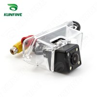 Wholesale Lancer Rear - CCD Track Car Rear View Camera For Mitsubishi Lancer Lancer-EX 08 10 Parking Assistance Camera Track Line Night Vision Waterproof KF-V1124L
