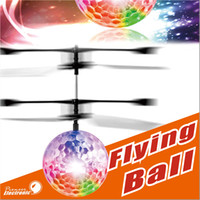 Wholesale Children Light Toys - Flying Ball, Children Flying Toys RC infrared Induction Helicopter Ball Built-in Shinning Color Changing LED Lighting for Kids ,Teenagers