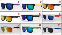 Wholesale Men S Fashion Polarized Sunglasses - HELM colorful reflective sunglasses, colorful multicolor sunglasses, S, P, Y personalized sports sunglasses, wholesale fashion sunglasses