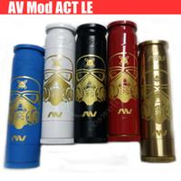 Wholesale Le Battery - Newest AV Able Mod Stormtrooper full Mechanical Mod ACT LE AV lyfe hybrid V2 Brass copper 18650 battery 510 Atomizers Vapor mods e cigs DHL