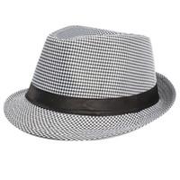 Wholesale Pink Gangster Hat - Wholesale-Retail Wholesales Men Women Unisex Summer Beach Top Hat Sun Jazz Gangster Cap
