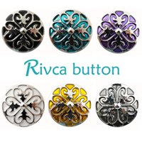 Wholesale Press Stud Buttons - Wholesale-D01265 wholesale Press Studs Heart-shaped Oil Painting Snap Button Bracelet For Women charm DIY 18mm RIvca Snap Button Jewelry