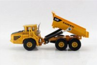 Wholesale Kaidiwei Models - Free shipping KAIDIWEI 1:87 Volvo A40D Loading and unloading car alloy model toys children gifts