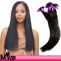 Wholesale Philippine Hair - filipino human hair double weft natural color 5a grade straight hair bundles 3pcs Philippine hair weave mix length