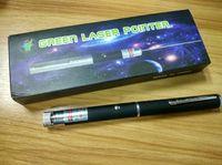 ingrosso modello a puntatore laser verde-Miglior Puntatore laser verde 2 in 1 Star Cap Pattern 532nm 5mw Penna puntatore laser verde con luce a forma di stella caleidoscopio laser con pacco DHL