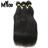 Wholesale Wholesale 5a Remy Virgin - 5A Grade Unprocessed Peruvian Hair Weave Remy Virgin Hair Extensions Natural Color Straight Human Hair