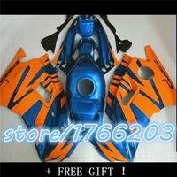 Wholesale Honda Cbr F - fairings for 1991 1992 1993 1994 CBR 600 F2 CBR600 F 91 92 93 94 CBR600 F2 orange blue fairing kits+ tank cove