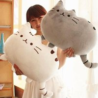 Wholesale Cat Doll Pillow - 40*30cm Pusheen Cat Plush Toys Stuffed Animal Doll Animal Pillow Toy Pusheen Cat For Kid Kawaii Cute Cushion Brinquedos Gift
