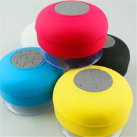 Wholesale Car Chuck - Bluetooth Waterproof Wireless Speaker Shower Handsfree Mic Suction Chuck speakers Car Speaker Portable mini MP3 Super