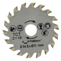 Wholesale Saw Blade Diameter - 18 Teeth Diameter 54.8mm Circular TCT Saw Blade Concrete Cement Wood Cutting Saw Blade