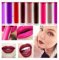 rose rouge à lèvres achat en gros de-Cosmétiques professionnels Maquillage Brillant à lèvres imperméable mat Riot Wicked Cashmere Blanchis Rose Velours Mat