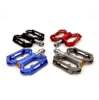 Wholesale Mtb Bicycle Pedals - Bike Pedals Ultralight Professional Bearing MTB Pedal Aluminum Alloy Mountain Road Bike Pedal Bicycle Parts