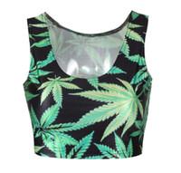 Wholesale Lulu Tanks - wholesale women s tank maple leaf 3 d digital printing womens shirt sport tank top Tank tops basketball lulu tops plus size tank tops NSY120