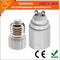 Wholesale e27 base screw lamp holder resale online - Lamp Bulb Adapter Converter LED E27 To GU10 Socket Holder GU10 to E27 Base Screw Light Lamp Bulb Holder Adapter Socket Converter