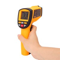 Wholesale Measurements Systems - GM1150 IR Infrared Digital Temperature Measurement Non-Contact 12:1 LCD Display Gun Thermometer -50~1150C (-58~2102F) 0.1~1.00