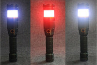 Hot Sale Super Bright 1000 Lumen XML T6 Railway Rescue Command Outdoor Flashlight Red Blue White Colour Signal Lamp