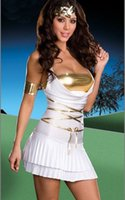 Wholesale Adult Indian Costumes - Wholesale-Free shipping sexy masquerade costume 4F1217 Goddess Lustalicious Adult Costume Sexy Indian Costume