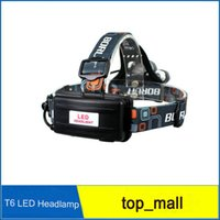 Wholesale 5000Lm x CREE XM L T6 LED Rechargeable Torch Bike Headlight Headlamp Charger AK UK for your choose