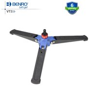 Wholesale Foot Base Stand - Wholesale-Benro VT3 3-Leg Locking Base Accessory For Monopod Fits Monopod with Removeable Supporting Stand 3 8 Threaded Foot Free Shipping