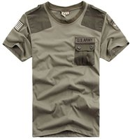Wholesale Knight Brand Shirts - Limited On Sale 2016 Summer Brand Free Knight Outdoor U.S. Army Men T Shirt Short Sleeve Airborne Tee Shirts . Couple T-shirt