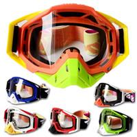 Wholesale Motorcycle Motocross Goggles - 100% Brand Racecraft Motocross Goggle Racing Motor Bike Gafas Motorcycle ATV Glasses 6 Colors