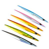 6PC pesca di lure di metallo esca 150g pesce piombo pesce di metallo pesca di lure Paillette coltello Wobbler artificiale duro esca Jigging Lure