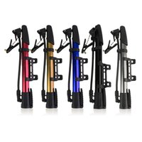 Wholesale Tire Inflator Sale - 1 pc Inflator Bike Pump Aluminum Alloy Mini Bicycle Tire Pump Ultralight Cycling Air Pump For Bike Hot Sale