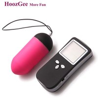 HoozGee Sexual Health Classic LCD Remote Wireless Vibrating Egg Женские секс-игрушки 10 Speed ​​Bullet Vibrator Sex Products