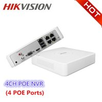 Wholesale Hikvision Ip Cameras - Hikvision DS-7104N-SN P HD 4ch Poe For Security IP Camera Network Video Recorder