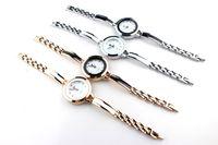 Wholesale Vogue Watch Bracelet - New Fashion Women Ladies Wristwatch Vogue Thin Leather Strap Quartz Bracelet Wrist Watch With Round Shape BY0000