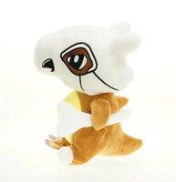 ingrosso animali cartoni animati film-Film 11.5inch Cubone Stuffed Animals morbidissimo grandi Anime farcita peluche di Kawaii del giocattolo carino cartone animato da Natale bambino Giocattoli