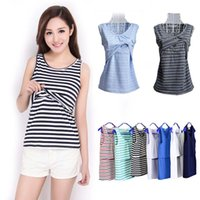 Wholesale 2xl Maternity Clothes - Plus Size Nursing Clothing Maternity Tees Breastfeeding Tops & Tees Summer Feeding T-shirt Clothing For Pregnant Women Intimates M L XL XXL