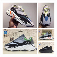 Wholesale Cotton Gifts For Men - Original 2017 Kanye West Wave Runner 700 Running Shoes for Original quality 700s Boost Fashion Casual Sports Sneakers Christmas gift