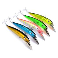 Wholesale Wholesale Big Tackle Boxes - 2016 New tremendous minnow Fishing Lures Exported to USA Market Saltwater baits Fishing Tackle 20cm 47g Fishing Bait Retail Box