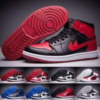 Cheap Retro 1 High OG Top 3 Shattered Backboard Melo Black Toe Hommes Chaussures de basket-ball Royal Blue Gym Red Thunder Retro 1s Sneakers