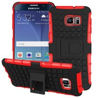 Wholesale Iphone Hard Case Price - Factory Price 2in1 Rugged Armor Hybrid TPU PC Durable Shockproof with Kickstand Hard case for iphone 6 7 Samsung galaxy S7 Edge note5