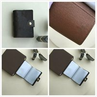 Wholesale French Business Letters - Promotion New arrival famous brand Genuine Leather French wallets men Women classic Luxury lattice card holders purse CX#162 With Box 60722