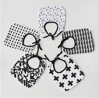 Wholesale Newborn Baby Handkerchief - Newborn saliva towels baby waterproof bibs burp cloths baby feeding accessoires infant cotton apron handkerchief kids bib pinafore R0072