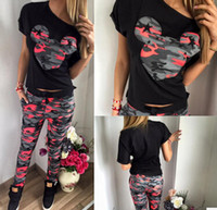 Wholesale Camouflage Cotton Pants Women - 2016 hot sell, Mickey Mouse camouflage printed leisure pants suit women's dress in summer
