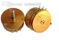 Wholesale 5k Potentiometer - Wholesale-Precision conductive plastic potentiometer 0.1% angular displacement sensor WDD35D-4 1K 2K 5K 10k