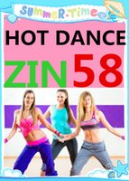 Wholesale America Dvd - Free Shipping November New South America HOT DANCE ZIN 58 Comprehensive dances ZIN58 Video DVD + Music CD