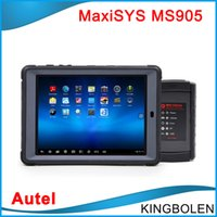 Wholesale Ms Update - 2017 Newly Autel MaxiSys Mini MS905 Automotive Diagnostic and Analysis System Update Online MS 905 Auto scanner Free shipping