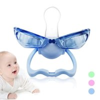 Wholesale Oral Solid Silicone - Baby Pacifiers Automatically closed infant baby Nipple Safe Food Grade Silicone baby Teeth Soothers Pacifiers oral care R2-16H