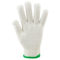 Wholesale White Cotton Work Gloves Wholesale - Nylon Gloves For Women And Men Cotton Yarn Material White Work Gloves for Gardening - Fishing Work 12 pairs Per Pack