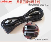 Wholesale Ecu Testing - OBDSTAR Main Cable for X100+ X200 X300 X400PRO OBD 2 Test Cable OBD-II Cables OBDII Obd2 Adapter OBD2 Connector OBDII