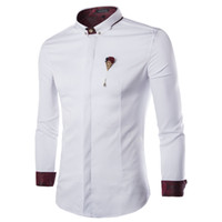 Dropshipping Mens Fitted Casual Button Down Shirts UK | Free UK ...